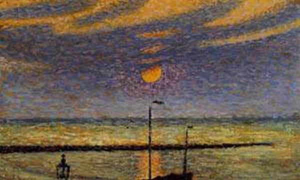 Heyst No19 Clear Night Moon 1891